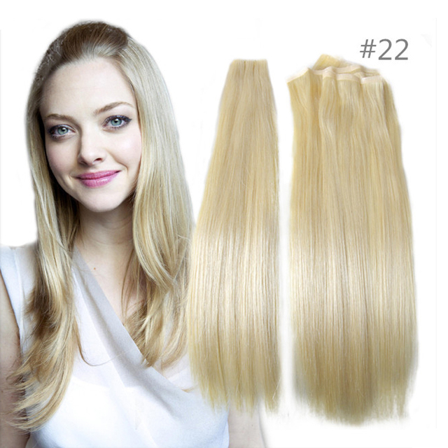 True Skin Weft Pu Russian Cuticle Remy Human Hair Extensions Black