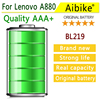 Aibike Mobile Phone Battery 3000mAh BL219 For Lenovo A916 A880 A889 A890E S810T Battery High Capacity