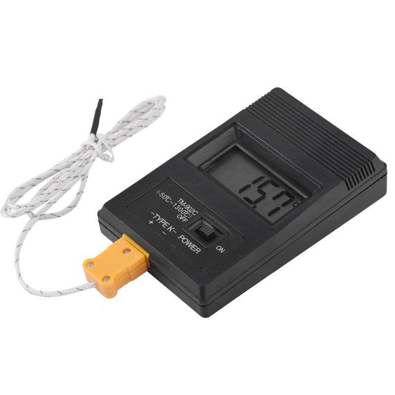 Rilevatore di temperatura industriale elettronico LCD Rivelatore di - Strumenti di misura - Fotografia 3