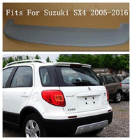 ABS Car Rear Wing Trunk Lip Spoilers Fits For Suzuki SX4 2005 2016 BY EMS