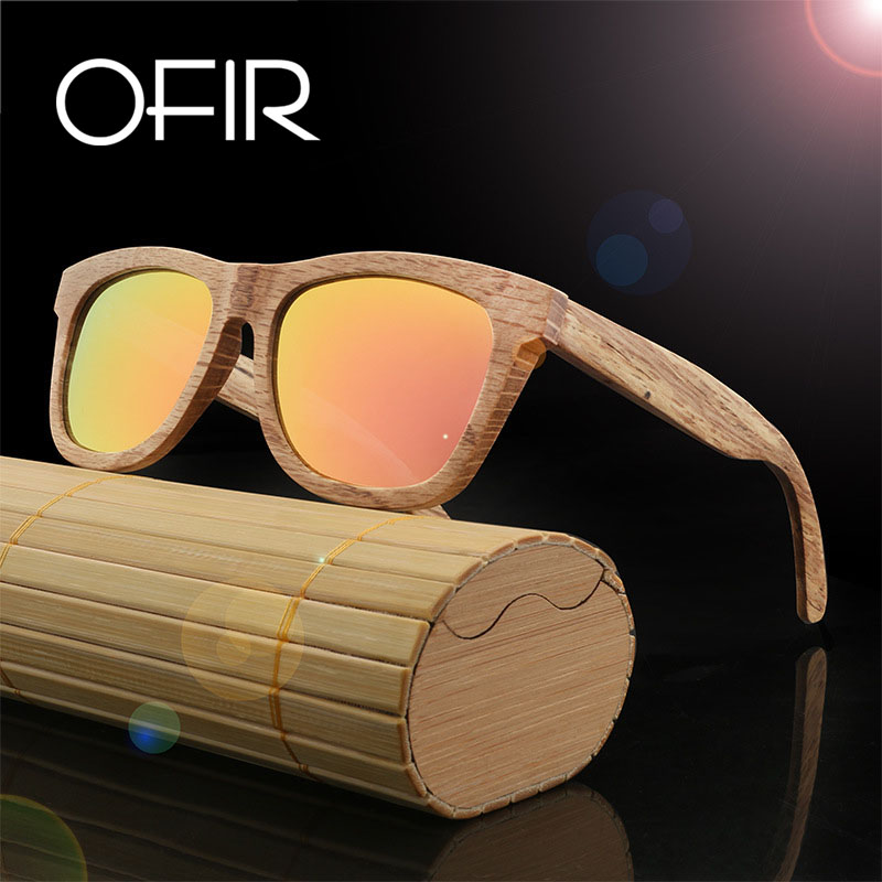 OFIR New Package Sunglasses font b Fashionable b font Restore Ancient Ways Natural Environmental Protection Man