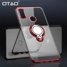 OTAO Car Magnetic Holder Phone Case For Xiaomi Mi 8 Lite 8 SE Pro Max