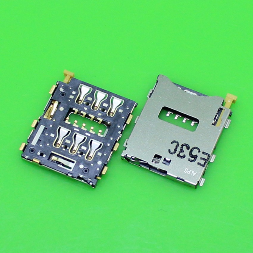 New Sim Card Tray Reader Holder Socket replacement part For Sony Xperia Z3 D6653 L55T