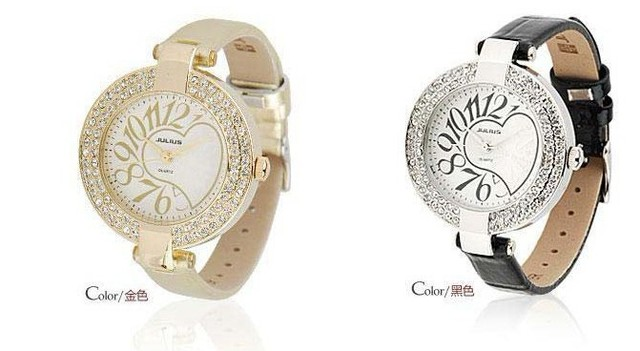 famous exclusive korea brand luxury Ladies Watch Quartz  jewelry wristwatch bracelet crystal gift watches