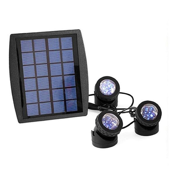 18 светодиодов солнечной энергии 3 лампы Пейзаж Точечный светильник проекционный светильник для сада бассейн пруд открытый светильник ing подводный светильник s(War