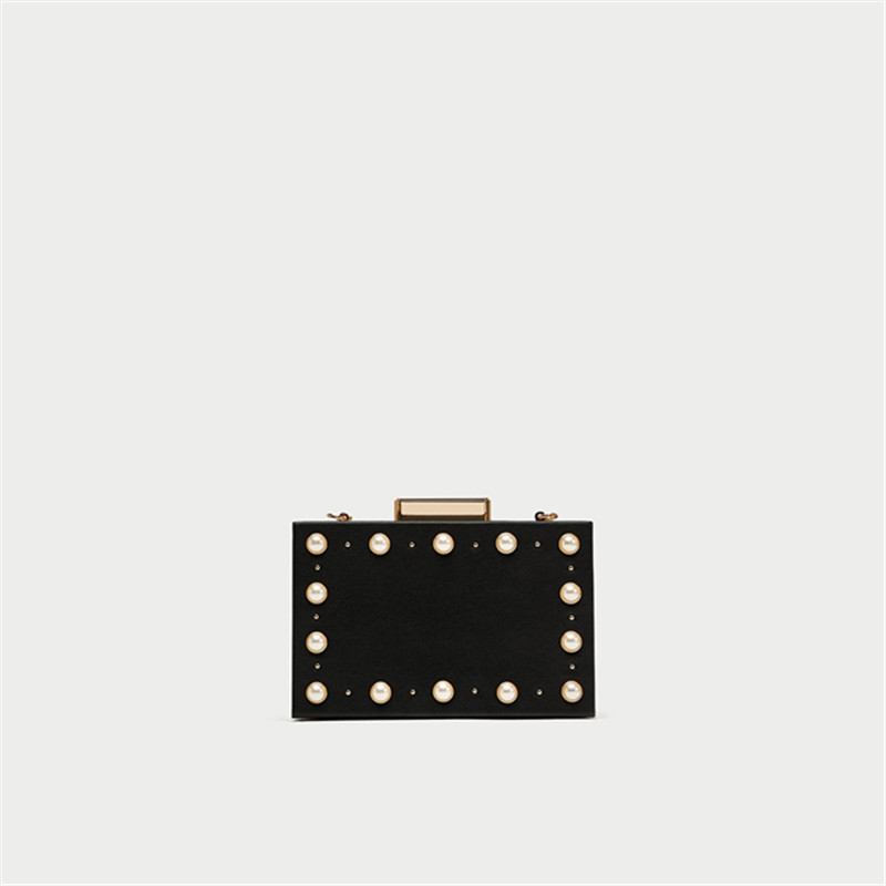 Europe and the United States fashion pearl evening bag black handbag шкаф для ванной the united states housing
