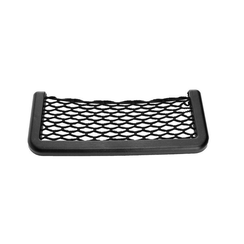 Auto Car Elastic String Storage Mesh Net Bag Luggage Holder Trunk Organizer Phone Net Pouch Automovil Interior Accessories