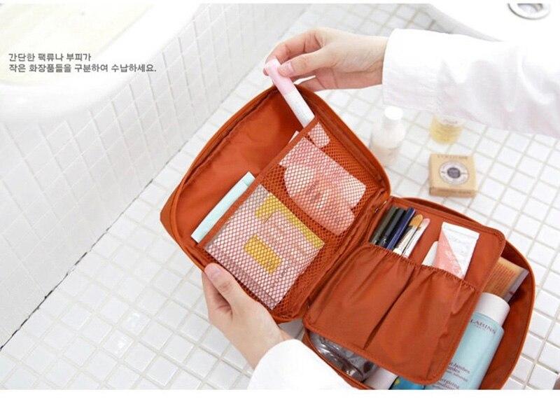HTB1hyyJl8HH8KJjy0Fbq6AqlpXaX - Fashion Travel Nylon beauty makeup bags water-proof cosmetics bags