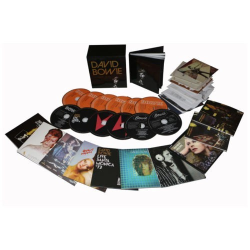 New David Years 1969-1973 12 CD US Version DVD Boxset Music cd box set Brand New factory sealed dropshipping welcome. цена 2017