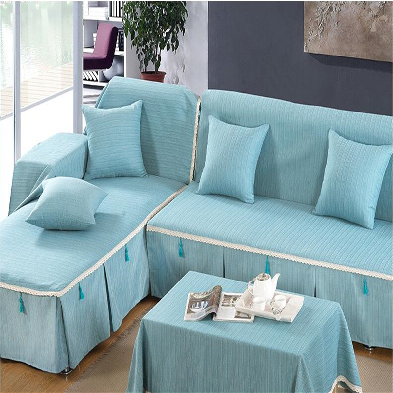 Funda sofa cover solid couch case for the sofas cushions for Chaise cushion slipcover