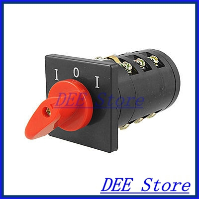 Rotary Cam Universal Changeover Switch 3KW HZ5B-10/3 Wgbvt ui660v ith32a 1 0 2 three position rotary cam universal changeover switch