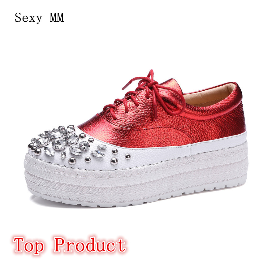 Genuine Leather Flats Women Loafers Trainers Breathable Sport Woman Shoes Casual Skate Walking Flat Platform Shoes Top Product ceyue fashion brand women shoes breathable air mesh trainers 2017 spring autumn casual shoes woman walking flats tenis feminino