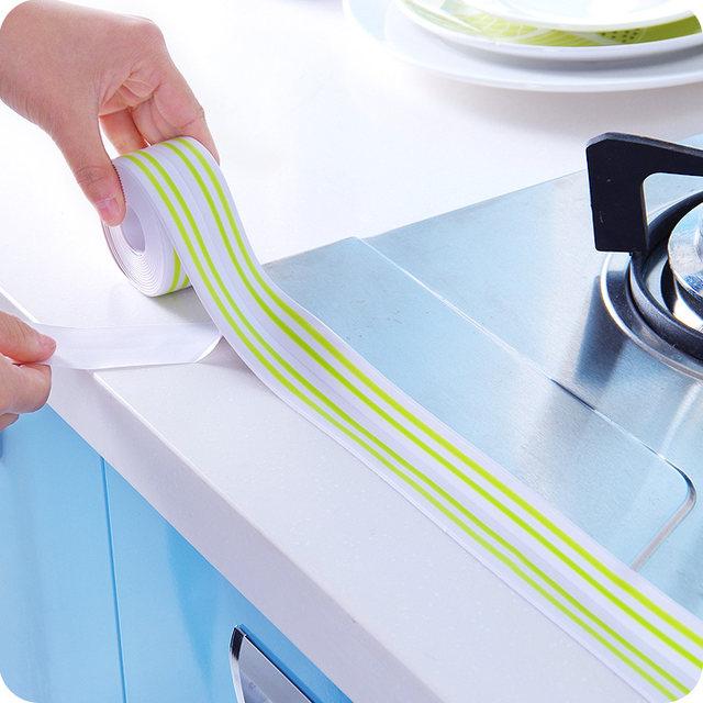 Online-Shop Farbige streifen küche mehltau wasserdicht band ecke ...