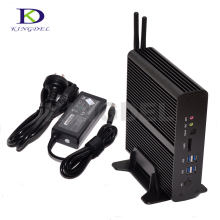 Kingdel Новая коллекция Dual LAN Mini PC HTPC Intel Core i7 5500U Двухъядерный Intel HD Graphics 5500 Dual HDMI WI-FI Настольный компьютер