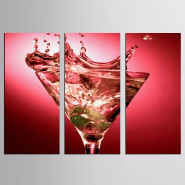 Red Wine Glass Series Canvas Painting Modern Wall Paintings For Home  Decorative Wall Art Picture Paint