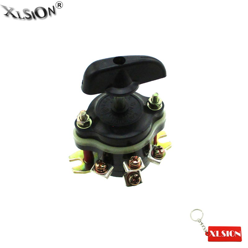 XLSION Aftermarket Forward Reverse Switch Fits Chinese 36V 48V 500W 800W 1000W Electric ATV Quad Motorcycle