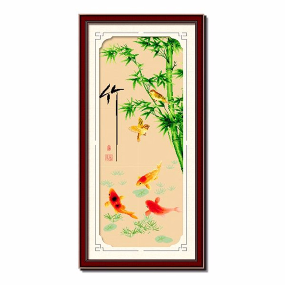 Buy koi cross stitch and get free shipping on AliExpress.com