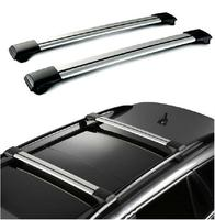 Partol Car Roof Rack Cross Bar Lock Anti Theft SUV Top 150LBS 68KG Aluminum Cargo Luggage