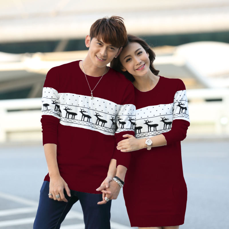 Couples Matching Christmas Sweaters