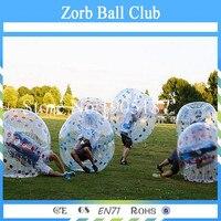 Бесплатная доставка ТПУ пузырь Футбол, бампер Бурлящий шарик, надувные человека Размер Футбол пузырь
