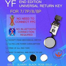 New HX JC YF Universal home button For iphone 7/7plus /8/8 p