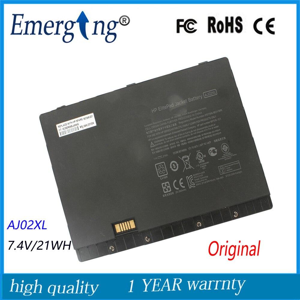 7 4v 21Wh New Original Laptop Battery for HP HSTNN IB3Y HSTNN C75J AJ02XL