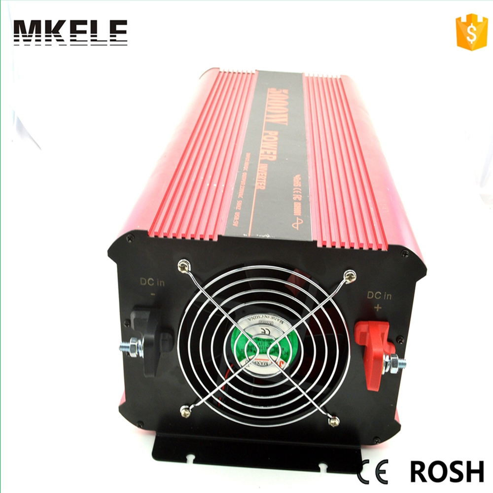 High Quality MKP5000-242R Pure Sine Wave Form Power Dc- Ac Inverter 12/24v Dc 220v/230v 5kva Solar Without Charger China mkp5000 482r high quality direct sale off grid 5kva pure sine wave inverter 48volt dc to ac power inverter 230vac made in china