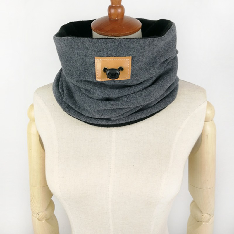 Unisex Winter Ring Scarf | Neck Scarves