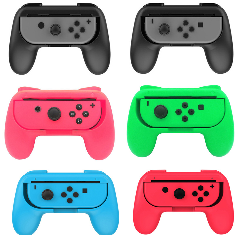2pcs Nintend Switch ABS Gamepad Grip Handle Joypad Stand Holder Hand Grip For Nintendo Switch Left Right Joy-Con Game Controller