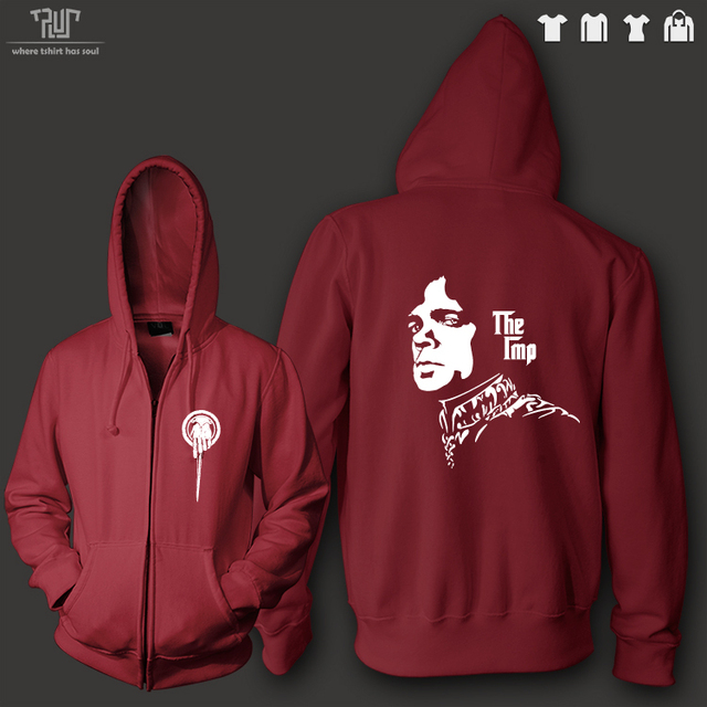 Game of Thrones Tyrion the Imp Zip Up Hoodie