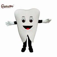 Косплэй DIY Популярных Прекрасный зуб плюшевые Маскоты костюм мультфильм животных Костюмы для косплея Хэллоуин День рождения взрослых кост