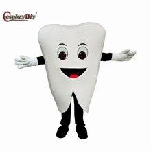 Косплэй DIY Популярных Прекрасный зуб плюшевые Маскоты костюм мультфильм животных Костюмы для косплея Хэллоуин День рождения взрослых костюм унисекс