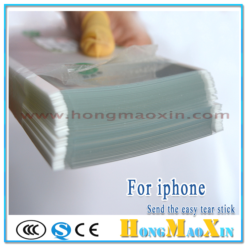 For Mitsubishi 250um OCA Optical Clear Adhesive Glue Film Double Side Sticker for iPhone 5 SE 5S 6 6S 6P 6SP 7 8 Plus LCD Repair