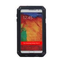 Для Samsung примечание 3 N9000 Три анти-Телефон Защитный Чехол Водонепроницаемый Пыленепроницаемый Мобильный Телефон Дело Чехол С Закаленным Сте...
