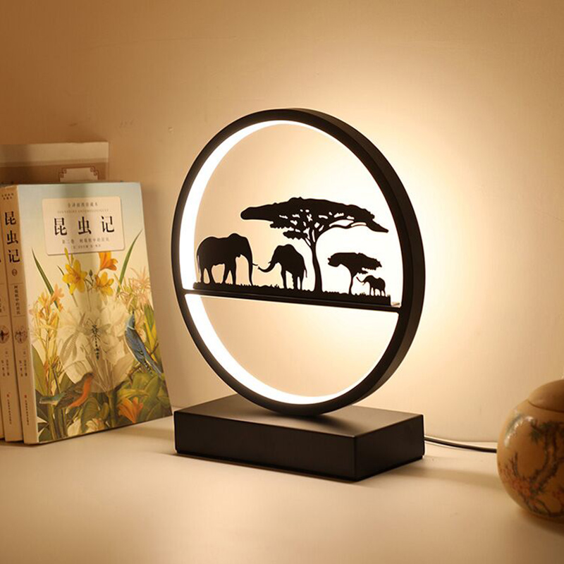 Artpad Nordic Dimmable Table Lamp Study Eye-care Desk Lamp Bedside Bedroom Table Night Lamp Living Room Hoom Decoration Led