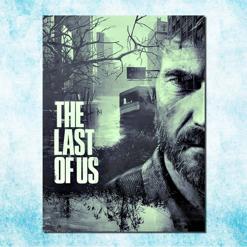 The Last Of Us 2 Hot Game Art Silk Poster 12x18 24x36 24x43