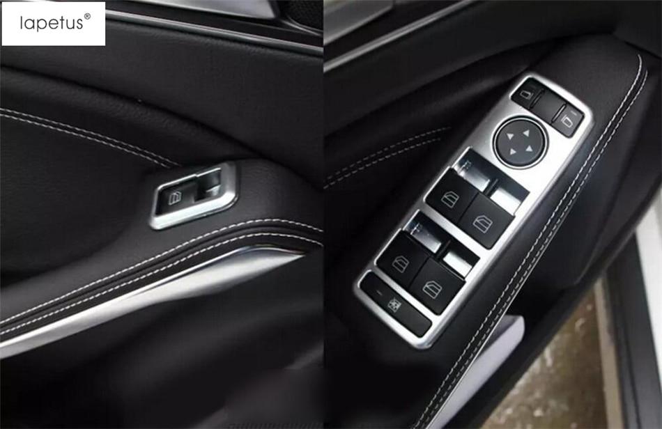 Interior Multimedia Button Cover Trim For Mercedes-Benz GLK-Class X204 2008-2015
