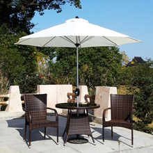 Xichuang Patio Umbrellas Outdoor Terrace Bar Umbrella Sun Pole Star Column  Tables And Chairs