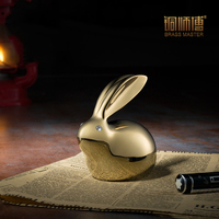 Copper crystal ornaments master Bunny decoration crafts Home Furnishing Decor