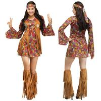 2017 New Role Play Adult Women Halloween Cosplay Clothing 4 Pcs Set Indian Costume Carnival Birthday