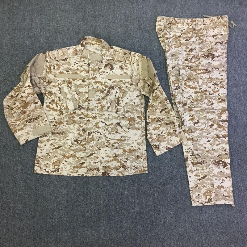 Hommes numérique MMCCUU Multicam Camouflage ensemble vêtements formation uniforme BDU plein air champ CS chasse militaire vêtements costume Combat