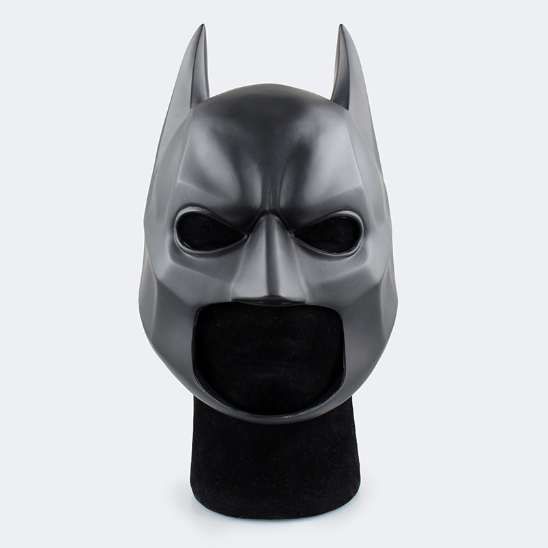 High Quality Black Batman Latex Full Face Mask Brinquedos PVC Action Figure Collection Kids Toys Figuras Anime Juguetes