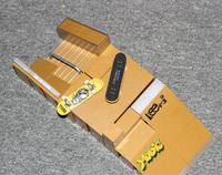 Ramp parts for finger skateboard and bike toy for children finger skateboard