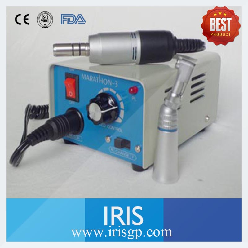 New Dental Lab Micromotor Hand piece Marathon-3 M33E Contra Angle Machine High Speed 35000rmp Micromotor Hand piece Polishing dental lab equipment polisher micromotor hand piece contra angle and straight high speed 50 000rpm electric grinder brushless