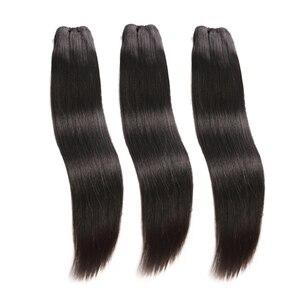 Sunper Queen необработанные индийские H натуральная норка пучки волос с фронтальной пучки прямых и волнистых волос с 13x4 фронтальной бесплатная д...