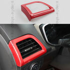 Red Interior Left Air Vent Outlet Frame Cover Trim For Ford Fusion Mondeo 13-15