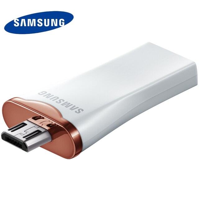 SAMSUNG OTG USB Flash Drive 64 ГБ 32 ГБ USB Ручка привода Памяти Устройство Хранения палка U Диск Для Планшетных Мобильный Телефон 100% Оригинал