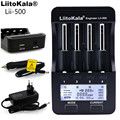 Liitokala lii500 LCD Charger for 3.7V 18650 26650 18500 18640 Cylindrical Lithium Batteries,1.2V AA AAA NiMH Battery Charger