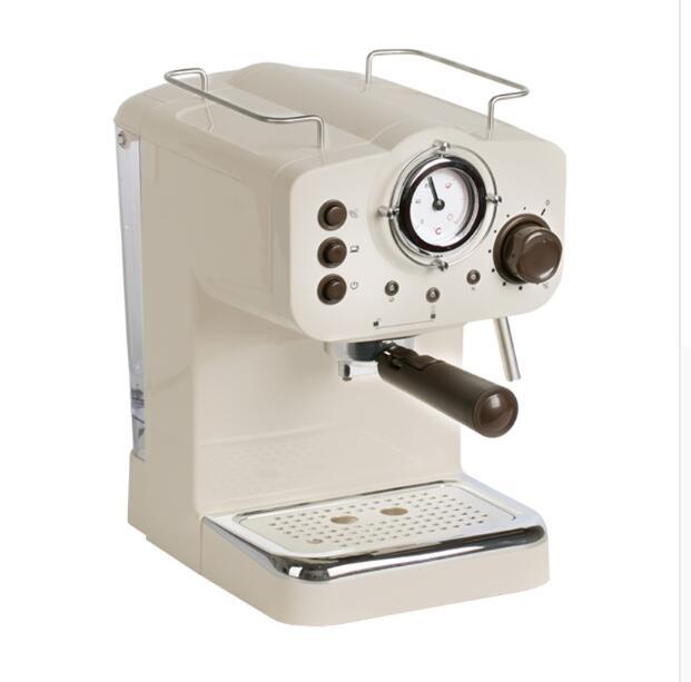 Maison Commerciale Machine À Café Italien Semi-Automatique Vapeur Type Jouer Lait Bulle 15Bar