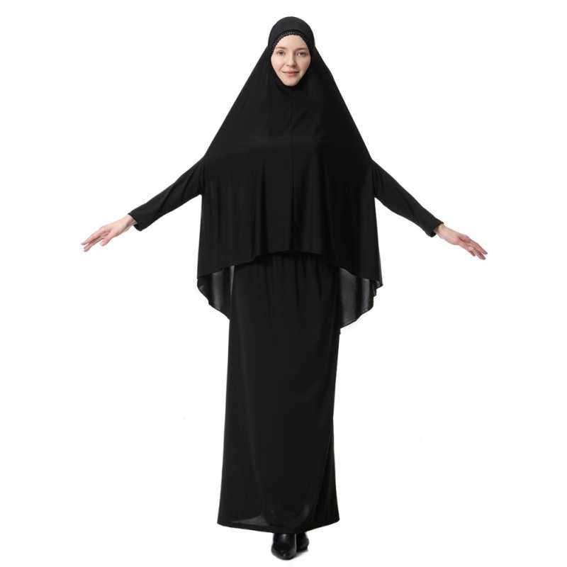 Muslim Black Face Cover Niqab Burqa Bonnet Islamic Khimar Clothes